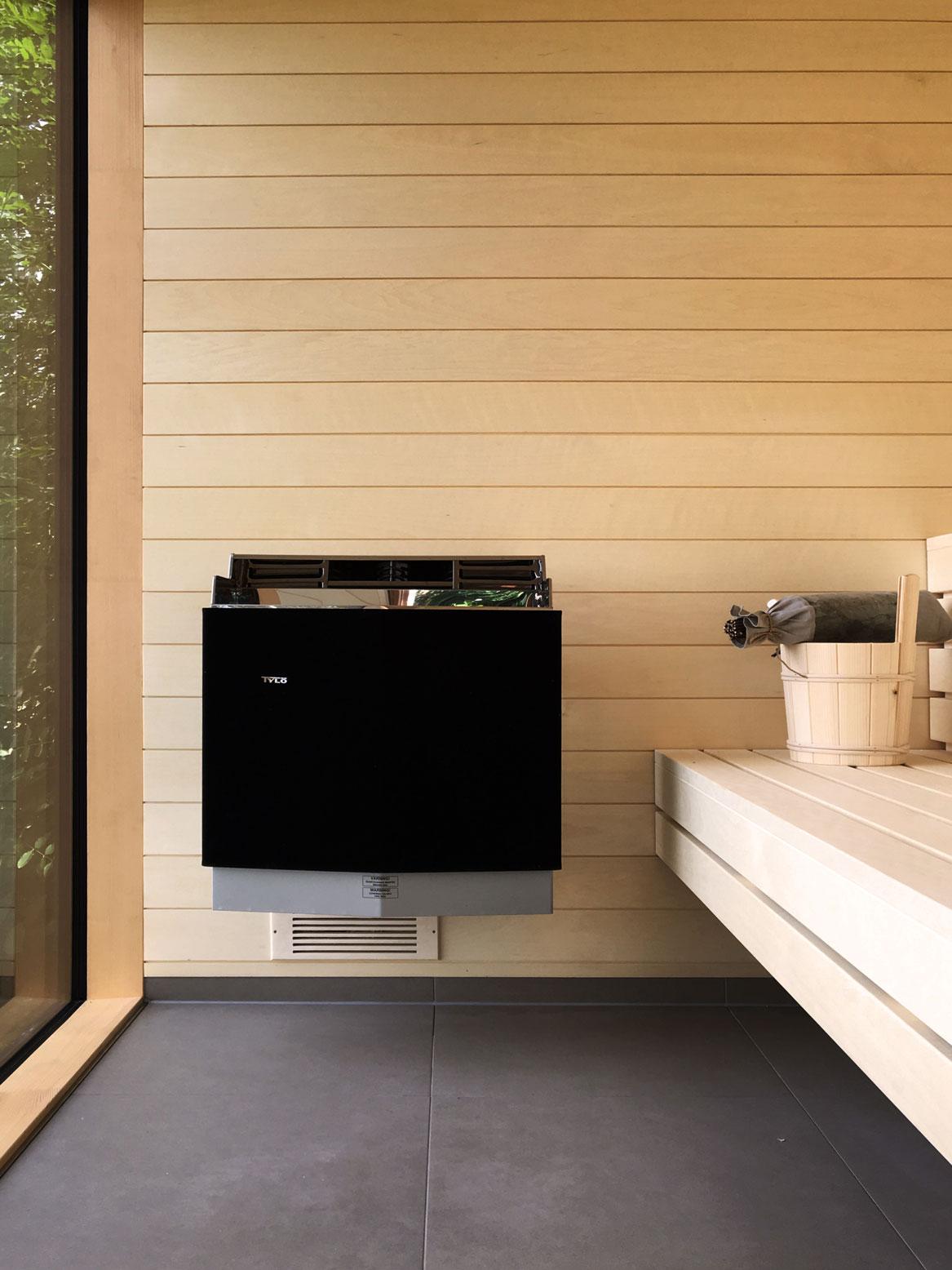 Sauna für Minimalisten